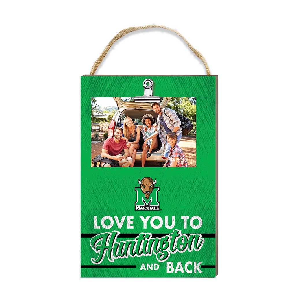 Hanging Clip Photo Frame Love You To Marshall Thundering Herd