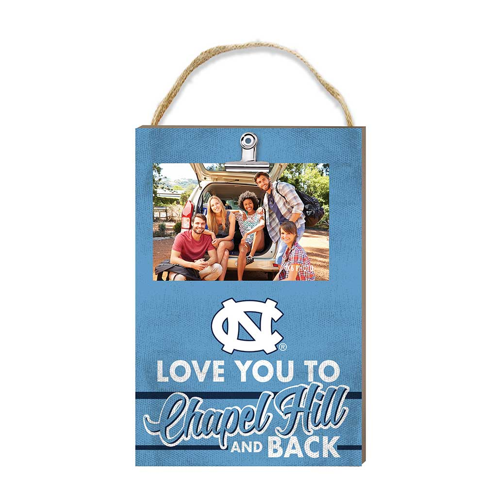 Hanging Clip Photo Frame Love You To North Carolina (Chapel Hill) Tar Heels
