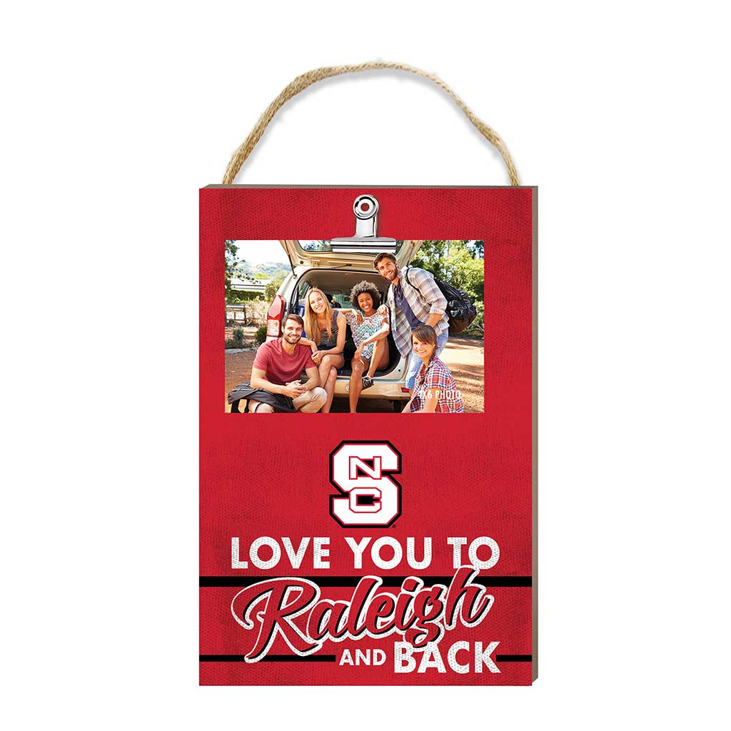 Hanging Clip Photo Frame Love You To North Carolina State Wolfpack