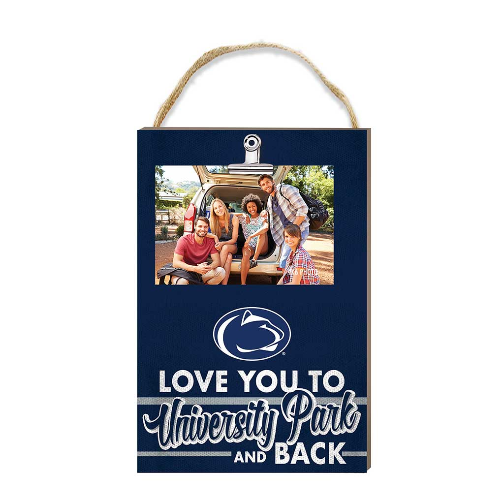 Hanging Clip Photo Frame Love You To Penn State Nittany Lions