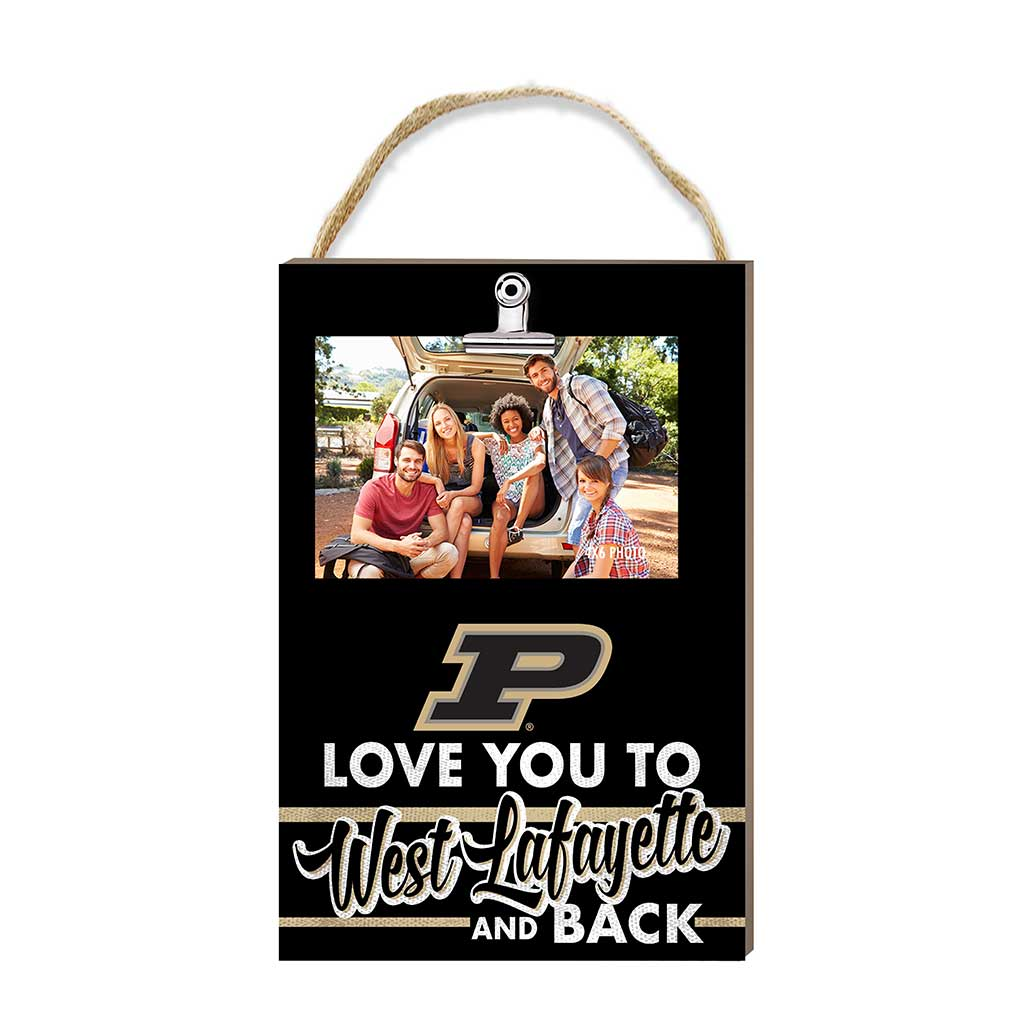 Hanging Clip Photo Frame Love You To Purdue Boilermakers