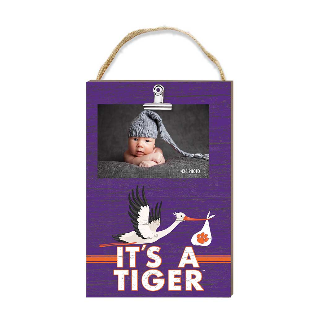 Hanging Clip Photo Frame It's A Clemson Tigers