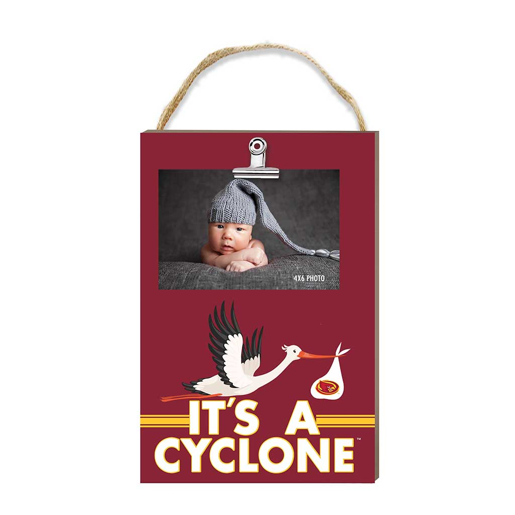 Hanging Clip Photo Frame It's A Iowa State Cyclones