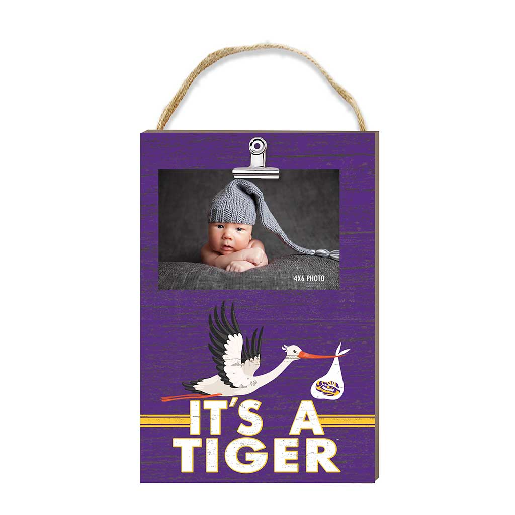 "Hanging Clip Photo Frame ""It's A"" - LSU Tiger"