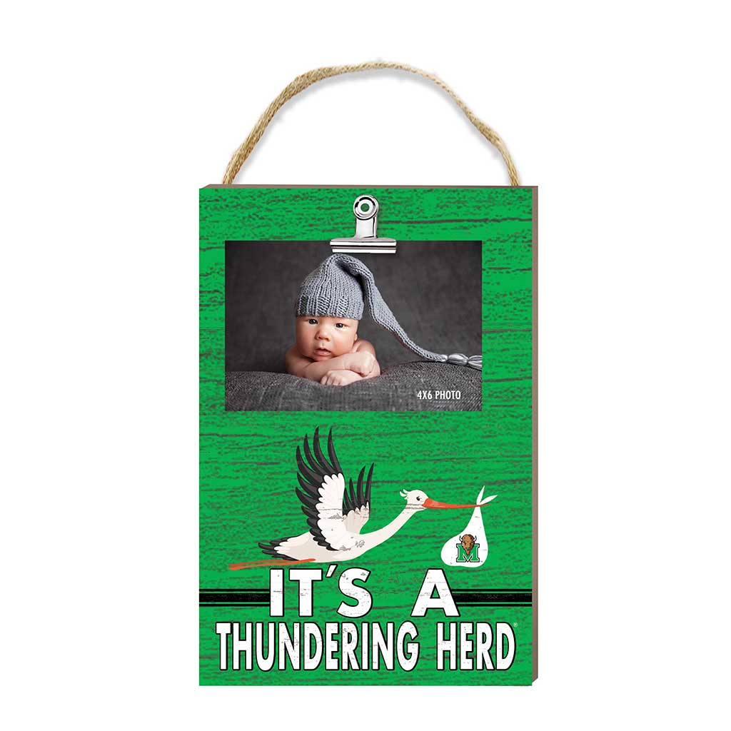 Hanging Clip Photo Frame It's A Marshall Thundering Herd