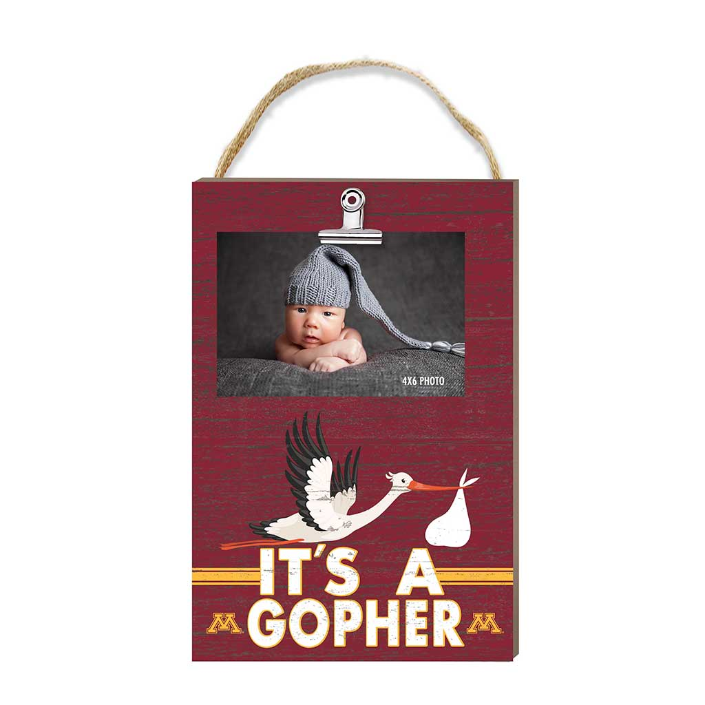 Hanging Clip Photo Frame It's A Minnesota Golden Gophers