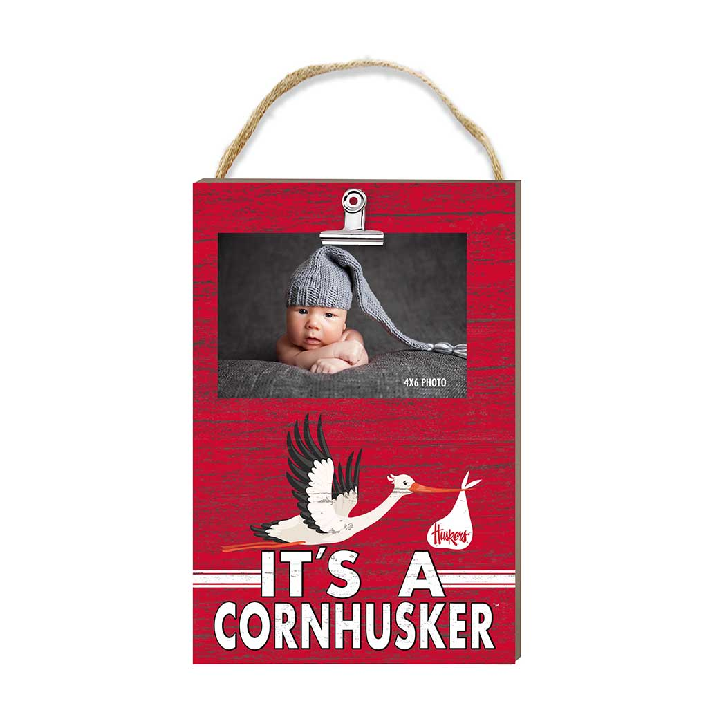 Hanging Clip Photo Frame It's A Nebraska Cornhuskers