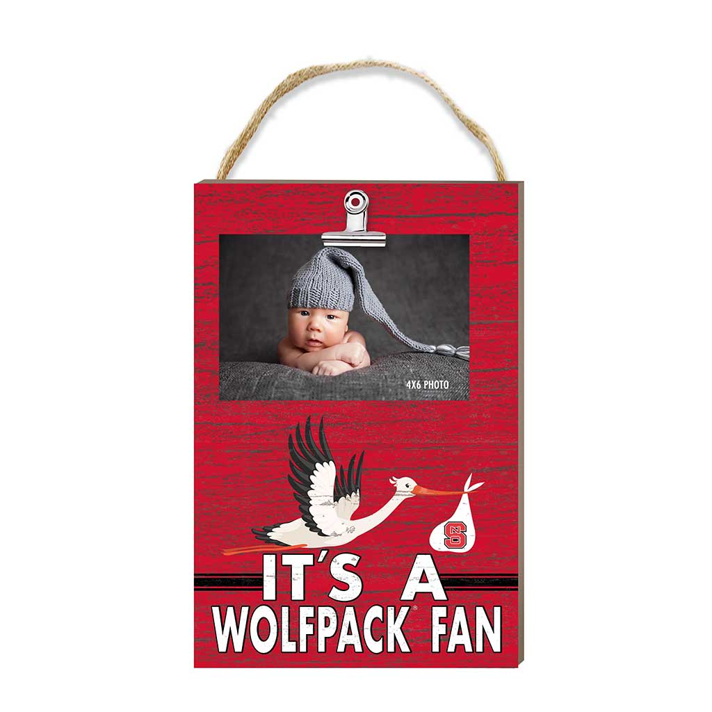 Hanging Clip Photo Frame It's A North Carolina State Wolfpack