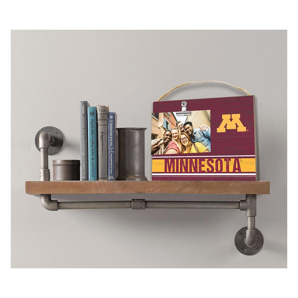 Clip It Colored Logo Photo Frame Minnesota Golden Gophers