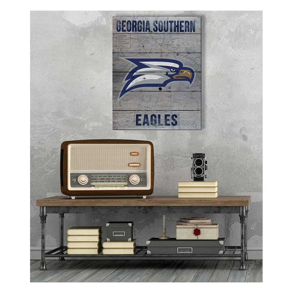 16x20 Pallet Pride - Road to Victory Georgia Southern Eagles