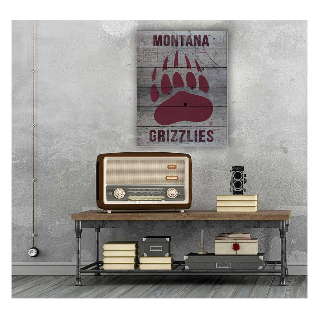 16x20 Pallet Pride - Road to Victory Montana Grizzlies