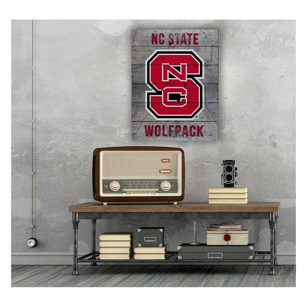 16x20 Pallet Pride - Road to Victory North Carolina State Wolfpack