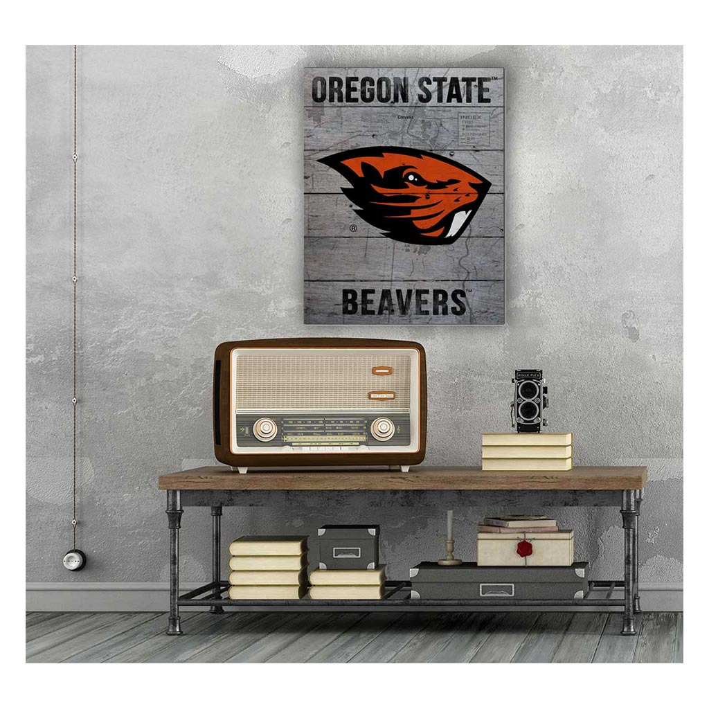 16x20 Pallet Pride - Road to Victory Oregon State Beavers