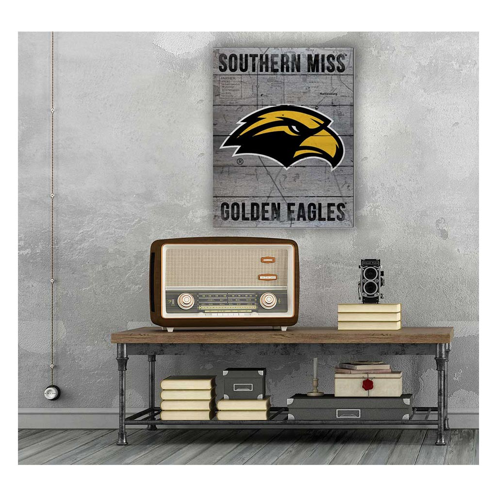 16x20 Pallet Pride - Road to Victory Southern Mississippi Golden Eagles