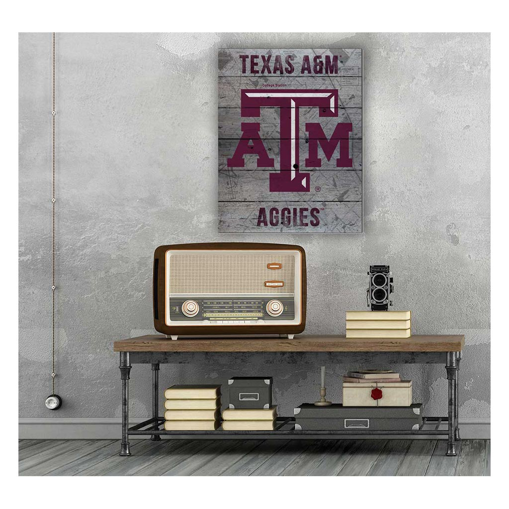 16x20 Pallet Pride - Road to Victory Texas A&M Aggies