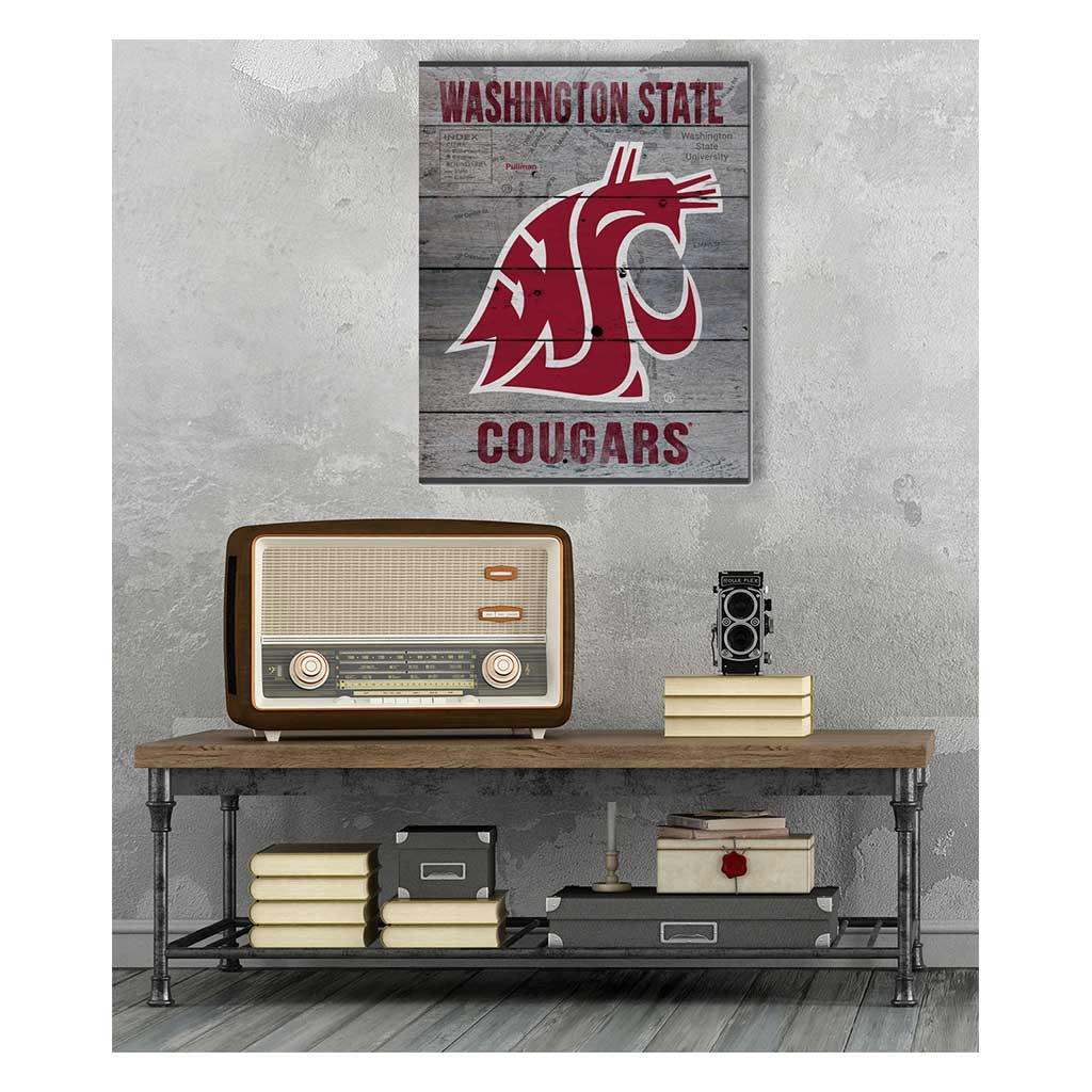 16x20 Pallet Pride - Road to Victory Washington State Cougars