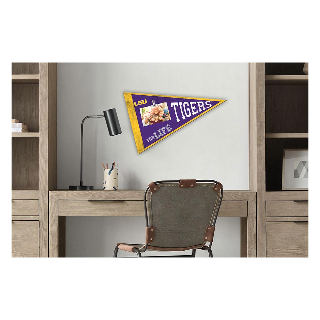 Pennant Clip-It Photo Frames LSU Tigers