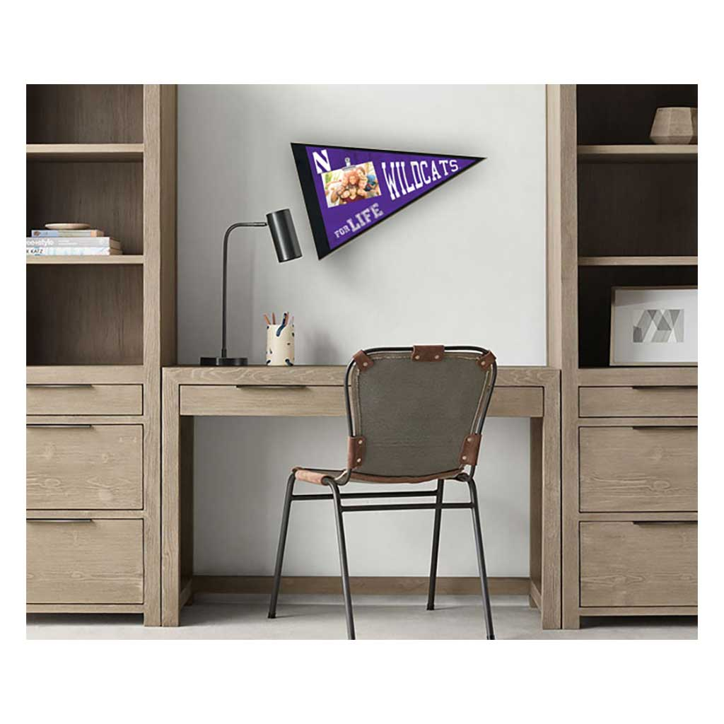Pennant Clip-It Photo Frame Northwestern Wildcats