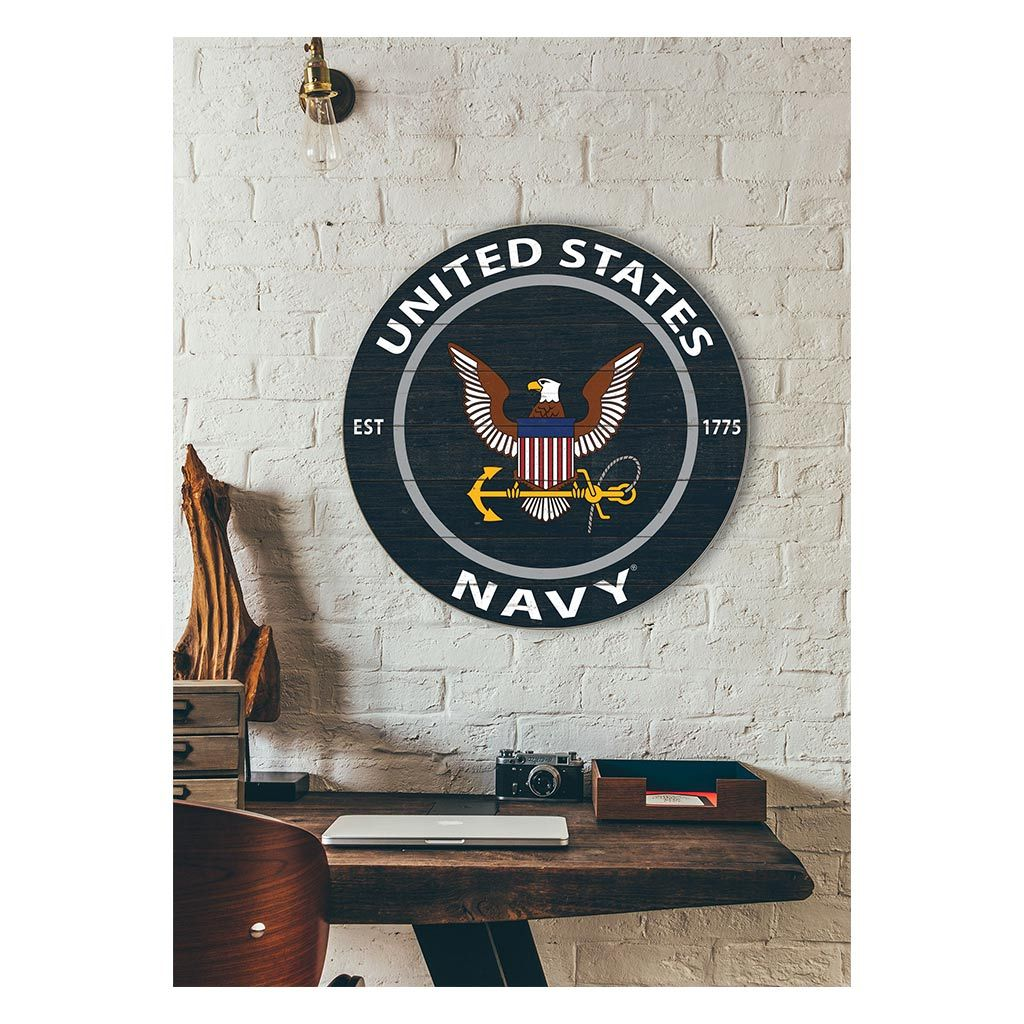 20x20 Colored Circle Navy