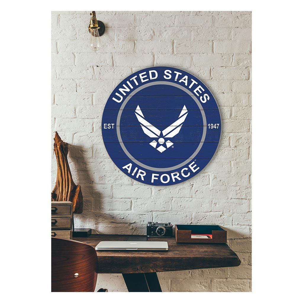 20x20 Colored Circle Air Force