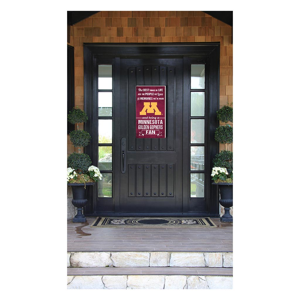 11x20 In\Outdoor Sign The Best Things Minnesota Golden Gophers