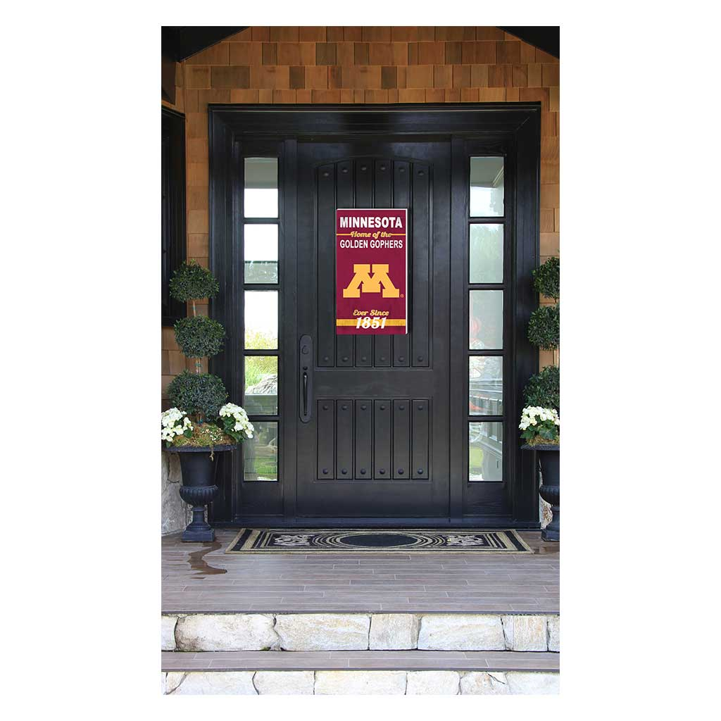 11x20 In\Outdoor Sign Home of the Minnesota Golden Gophers