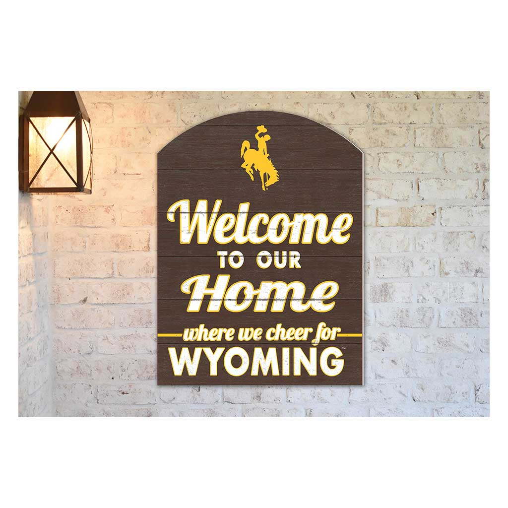 22x16 In\Outdoor Marquee Sign Wyoming Cowboys