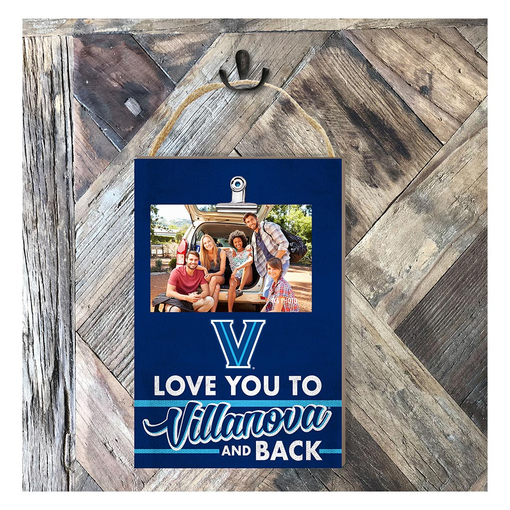 Hanging Clip Photo Frame Love You To Villanova Wildcats