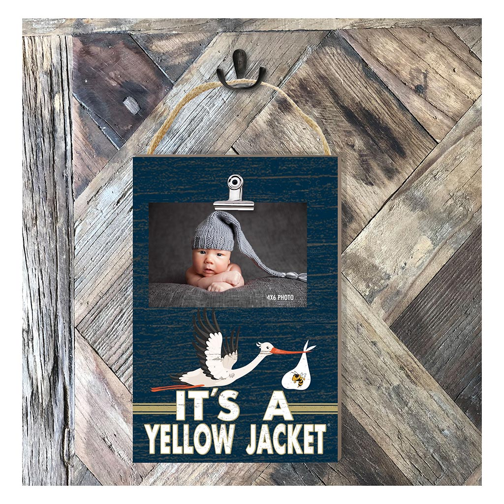Hanging Clip Photo Frame It's A Georgia Tech Yellow Jackets