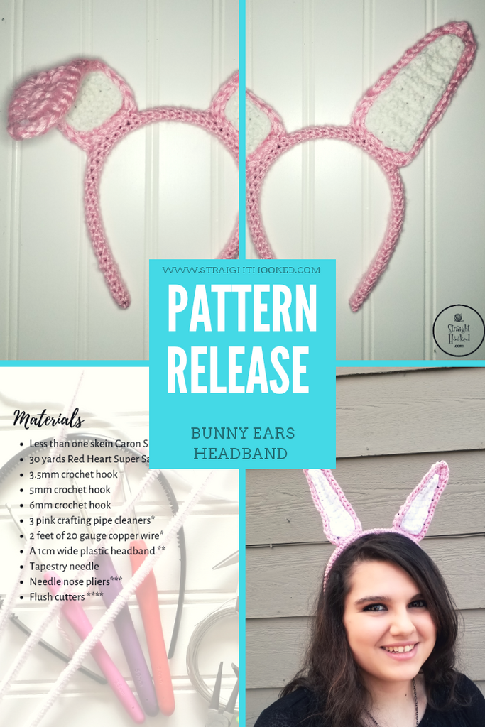 Pattern Release: Poseable Bunny Ears Headband