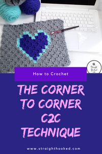 How To Crochet the Corner to Corner (C2C) Technique