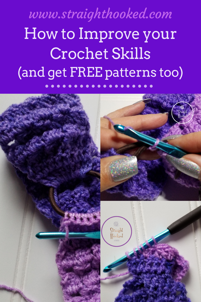 How to improve your crochet skills (and get free patterns too)