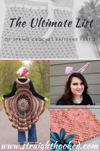 The Ultimate List of Spring Crochet Patterns Part 2- Easter Edition
