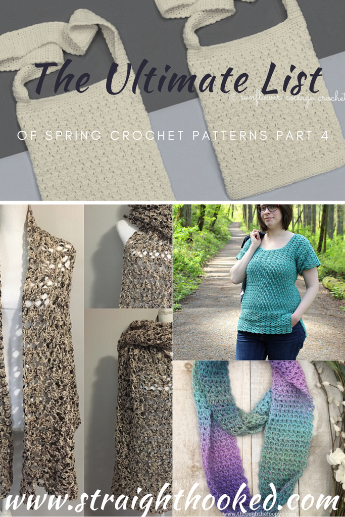 The Ultimate List of Spring Crochet Patterns- Part 4