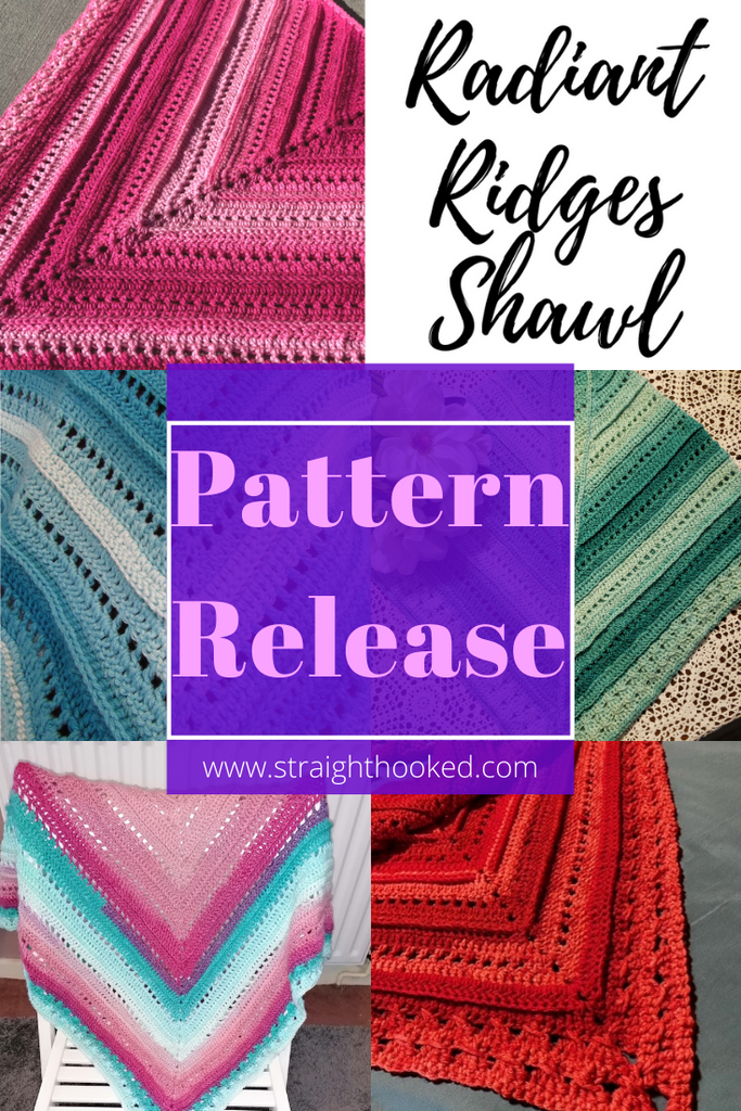 Pattern Release: The Radiant Ridges Shawl