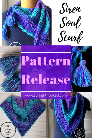 Pattern Release: The Siren Soul Scarf