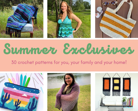 Summer Exclusives Pattern Bundle Straight Hooked Affiliate