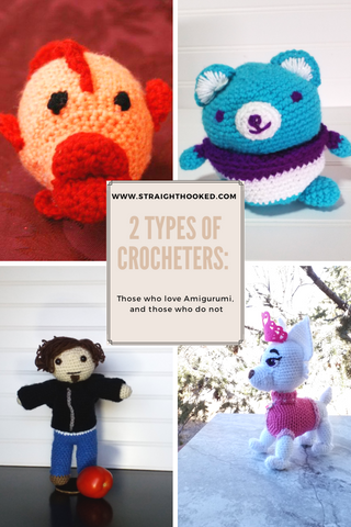 2 types of crocheters Straighthooked.com