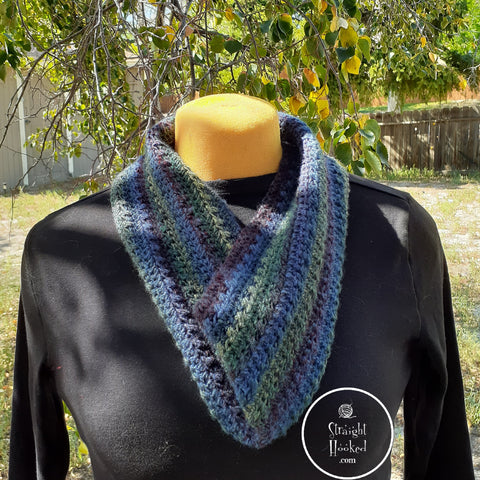 StraightHooked infinity scarf