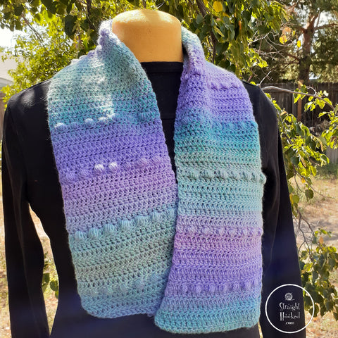 StraightHooked Fairy Bubbles scarf