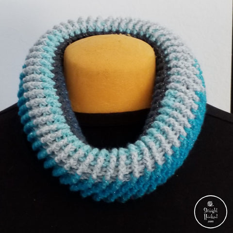 Spiral Donut Cowl Straight Hooked