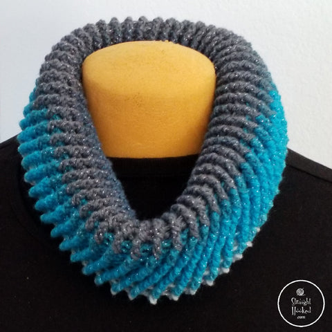 Straight Hooked Spiral Donut Cowl