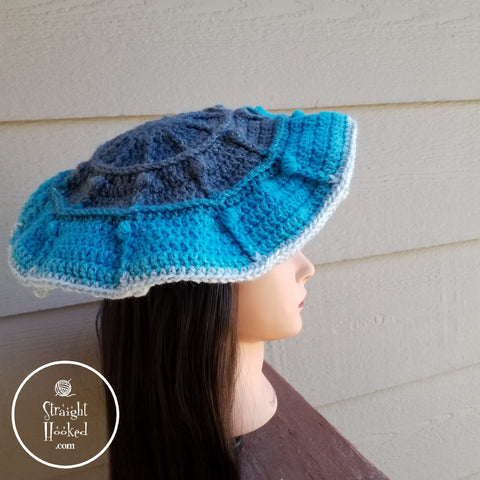 Straight Hooked Berry Fun Beret
