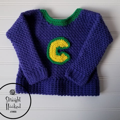 Straight Hooked Chuck E. Cheese Sweater