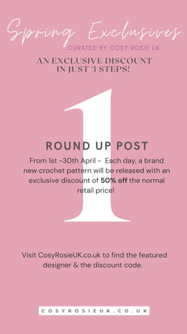 Spring Exclusives Curated by Cosy Rosie UK