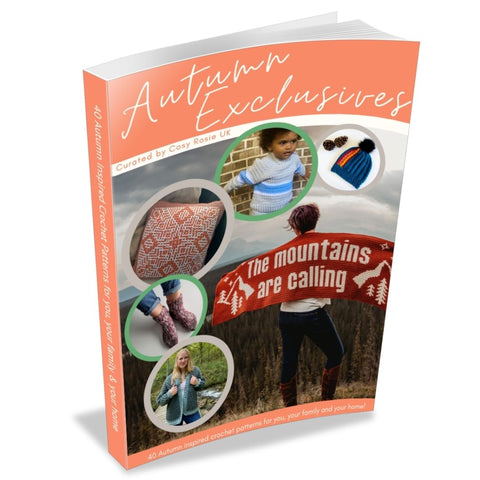 Autumn Exclusives pattern bundle Straight Hooked affiliate