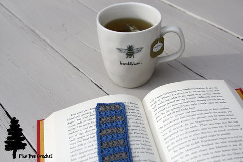 Bookmark Pine Tree Crochet