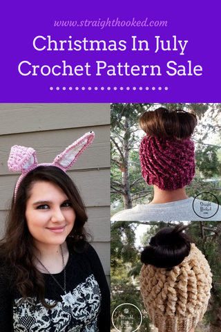 Straight Hooked Crochet Pattern Sale