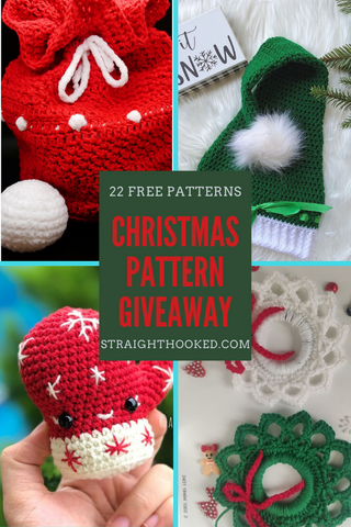 Straight Hooked Christmas Pattern Giveaway