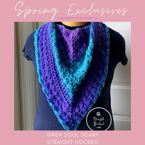 Siren Soul Scarf Spring Exclusives Straight Hooked